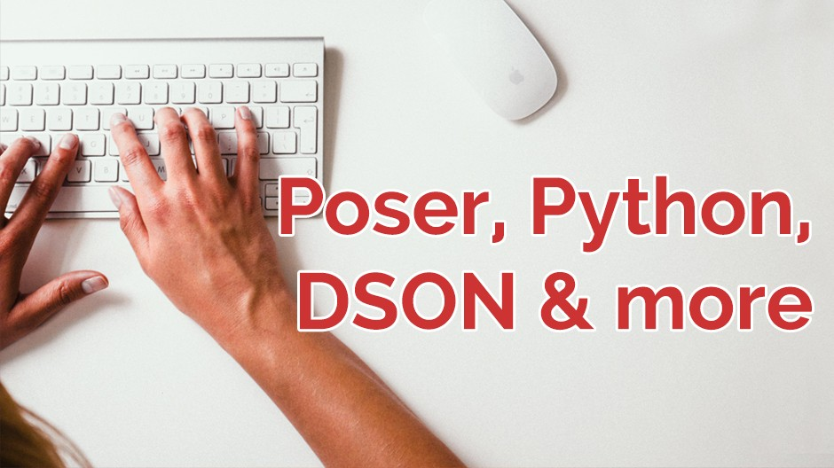 Poser, Python, DSON and more
