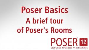 Poser Basics: A brief tour of Poser's Rooms