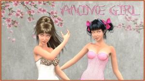 Anime Girl for Poser's La Femme