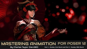 Mastering Animation for Poser 12