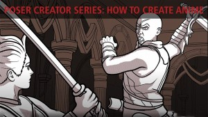 Poser Creator Series: How 2 brothers created an anime YouTube series