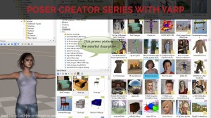Poser Creator Series with Yarp