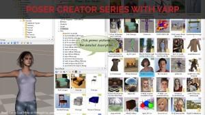 Poser Creator Series with Yarp