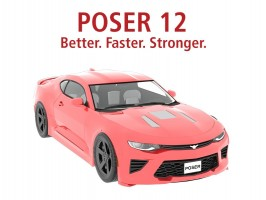 Poser 12: Better. Faster. Stronger.