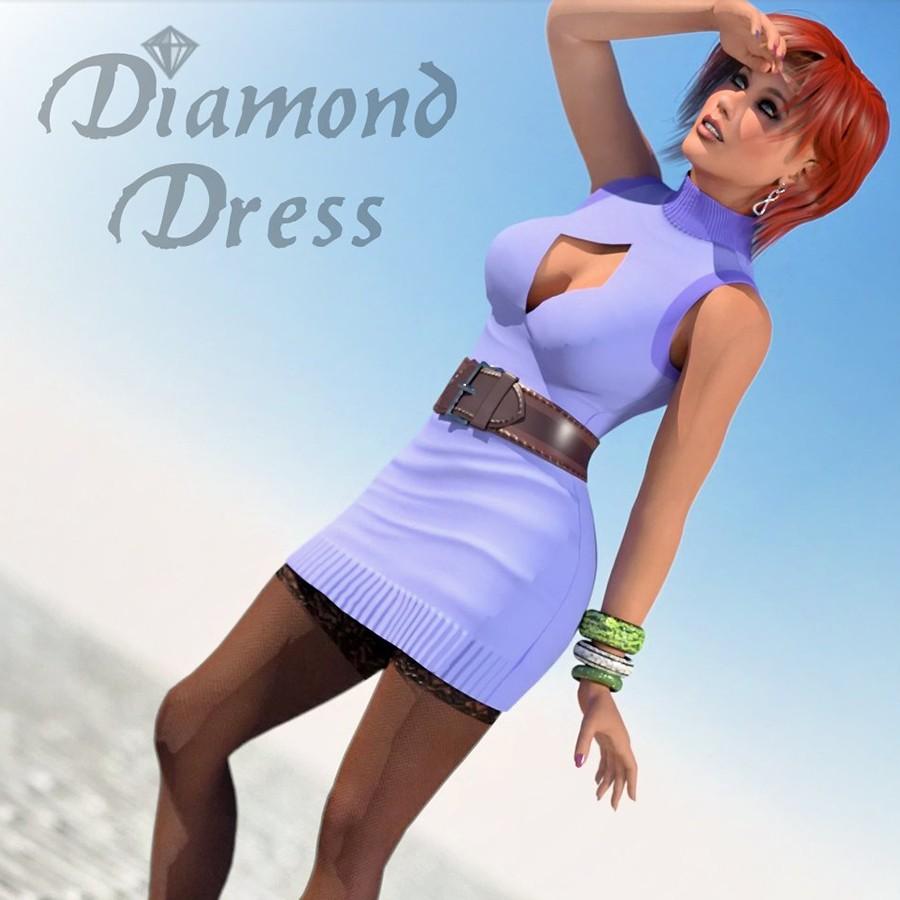 Diamond Dress for Poser